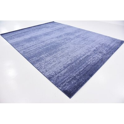 Wyble Blue Area Rug Rug Size: Rectangle 10 x 13