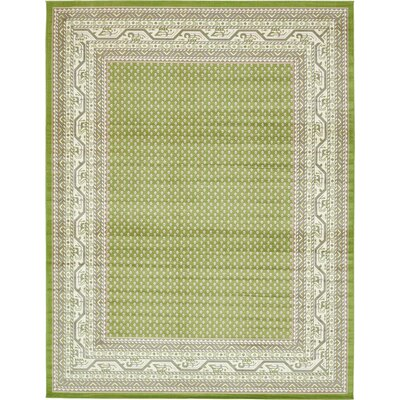 Toni Geometric Green Area Rug Rug Size: Rectangle 10 x 13