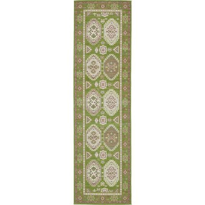 Toni Green Area Rug Rug Size: Runner 29 x 910