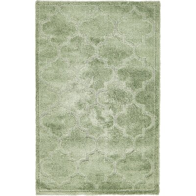 Easterling Green Area Rug Rug Size: Rectangle 5 x 8