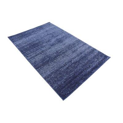 Wyble Blue Area Rug Rug Size: Rectangle 3 x 5
