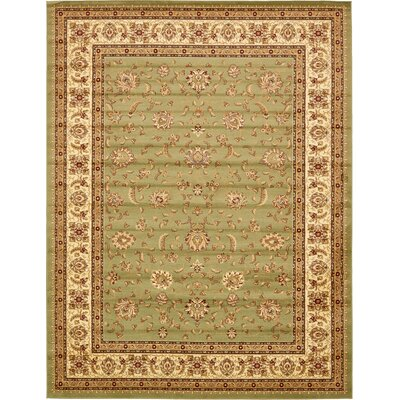 Fairmount Light Green Area Rug Rug Size: Rectangle 10 x 13