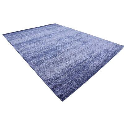 Wyble Blue Area Rug Rug Size: Rectangle 9 x 12