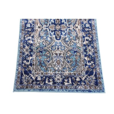 Tatham Blue Area Rug Rug Size: Rectangle 5 x 8