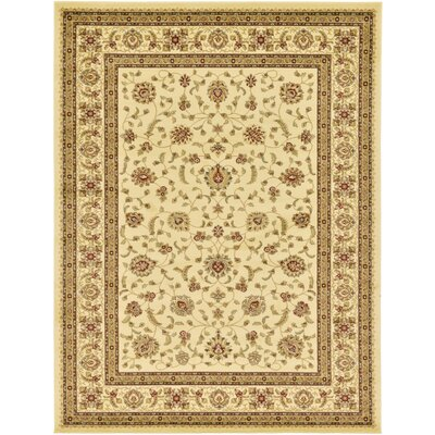 Fairmount Cream Area Rug Rug Size: Rectangle 9 x 12