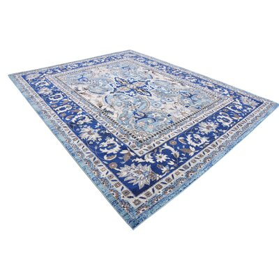 Tatham Blue Area Rug Rug Size: Rectangle 8 x 10