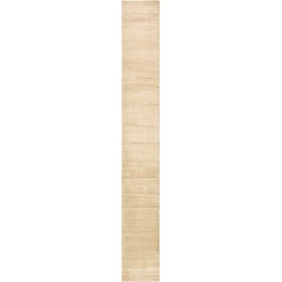 Hockett Beige Area Rug Rug Size: Runner 2 7 x 19 8