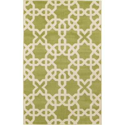 Moore Green Area Rug Rug Size: Rectangle 5 x 8