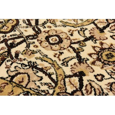 Britannia Ivory Area Rug Rug Size: Rectangle 9 x 12