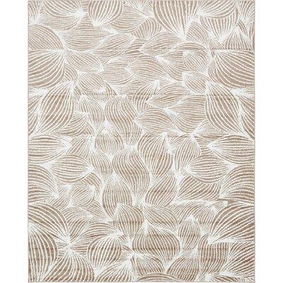 Sidney Beige Area Rug Rug Size: Rectangle 8 x 10
