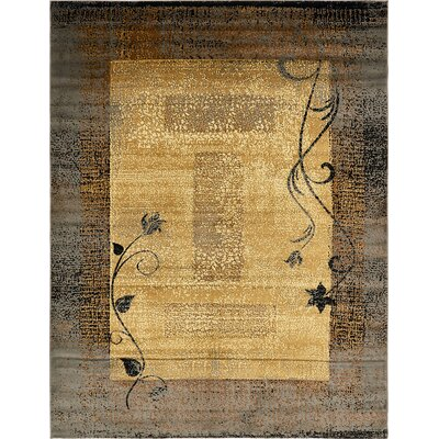 Apex Beige Area Rug Rug Size: 9 x 12