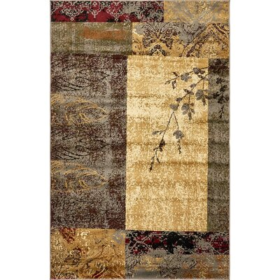 Jaidan Beige Geometric Area Rug Rug Size: Rectangle 5 x 8