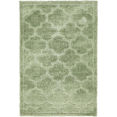Easterling Green Area Rug Rug Size: Rectangle 4 x 6