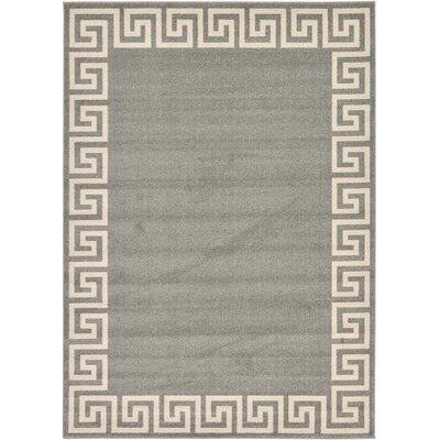 Cendrillon Gray Area Rug Rug Size: Rectangle 7 x 10