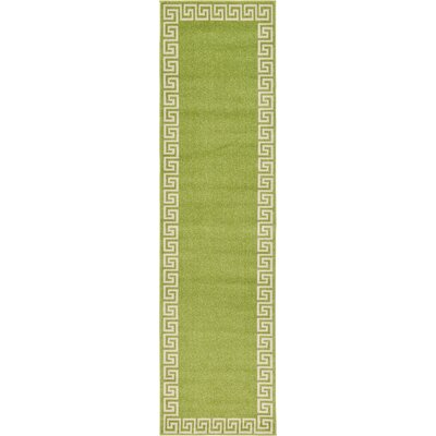 Cendrillon Light Green Area Rug Rug Size: Runner 27 x 10