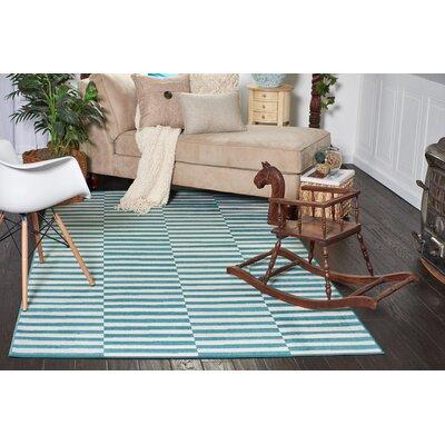 Braxton Teal Area Rug Rug Size: 5 x 8