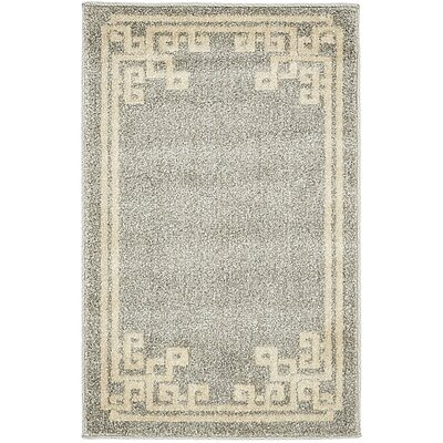 Ellery Gray Area Rug Rug Size: Rectangle 33 x 53