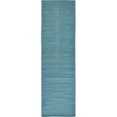 Risley Teal Area Rug Rug Size: Runner 29 x 910