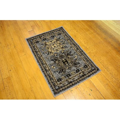 Sina Gray Area Rug Rug Size: Rectangle 7 x 10