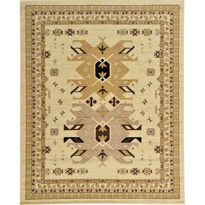 Valley Ivory Area Rug Rug Size: Square 8