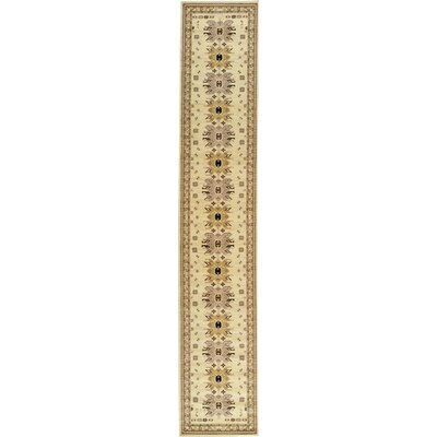 Valley Ivory Area Rug Rug Size: Runner 22 x 82