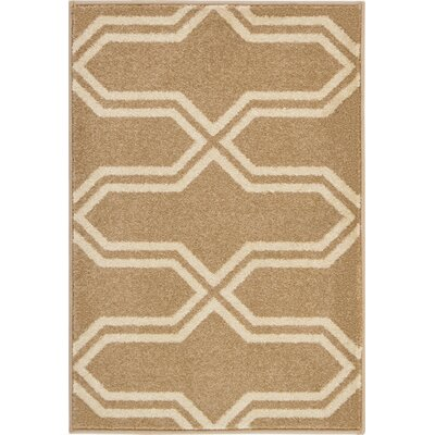 Marika Beige Area Rug Rug Size: Rectangle 22 x 3