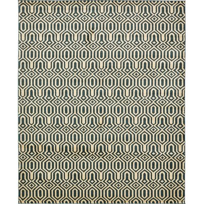 Seattle Navy Blue Area Rug Rug Size: 8 x 10