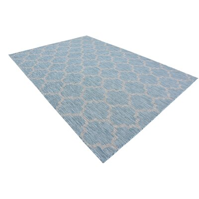 Stanton Aquamarine Outdoor Area Rug Rug Size: Rectangle 7 x 10