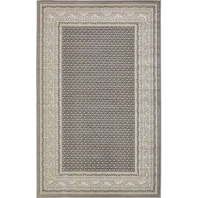 Toni Gray Area Rug Rug Size: Rectangle 5 x 8