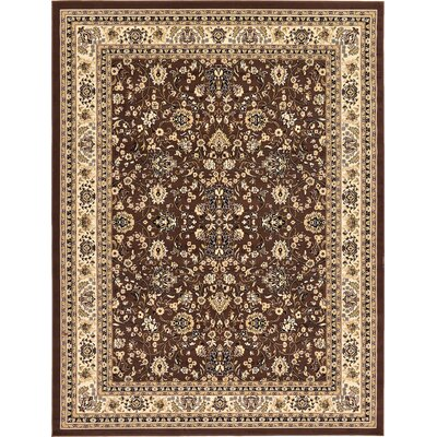 Concord Brown Area Rug Rug Size: Rectangle 9' x 12'