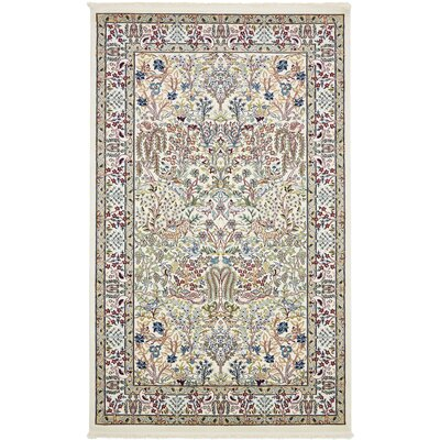 Jackson Ivory Area Rug Rug Size: Rectangle 5' x 8'
