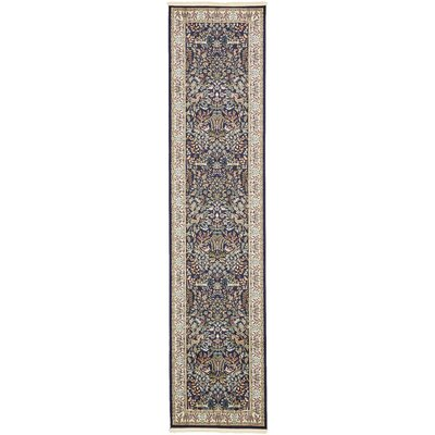 Jackson Navy Blue Area Rug Rug Size: Rectangle 8 x 10