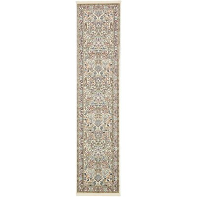 Jackson Ivory Area Rug Rug Size: Runner 3 x 13