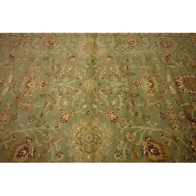 Fairmount Light Green Oriental Area Rug Rug Size: Rectangle 9 x 12