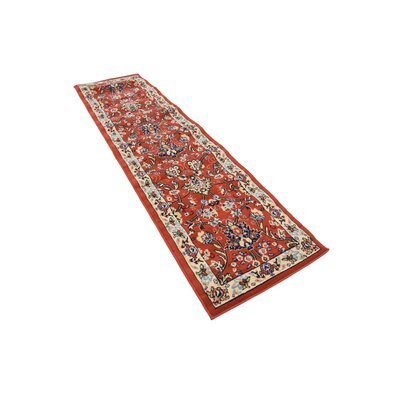 Essehoul Terracotta Area Rug Rug Size: Runner 2 x 8