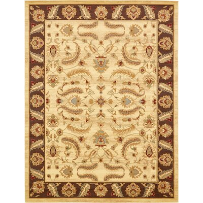 Fairmount Cream Turkey Area Rug Rug Size: Rectangle 10 x 13