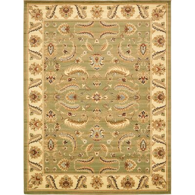 Fairmount Green Area Rug Rug Size: 10 x 13