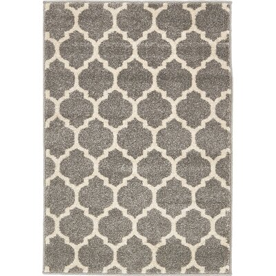 Moore Gray Area Rug Rug Size: Rectangle 22 x 3