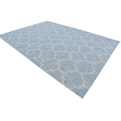 Stanton Aquamarine Outdoor Area Rug Rug Size: Rectangle 8 x 114