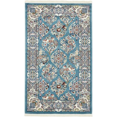Jackson Blue Area Rug Rug Size: Rectangle 8 x 10