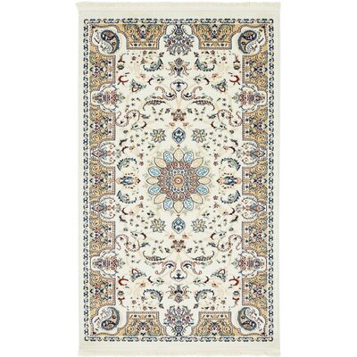Jackson Ivory Area Rug Rug Size: Rectangle 8 x 10