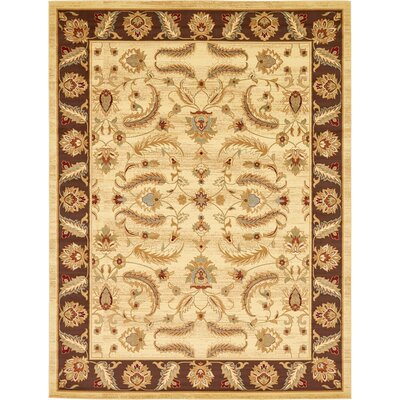 Fairmount Cream Area Rug Rug Size: 8 x 10