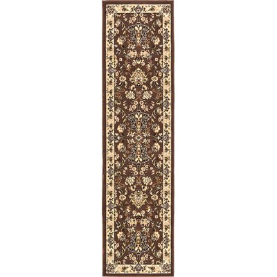 Concord Brown Area Rug Rug Size: Rectangle 4' x 6'