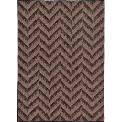 Jordan Brown Outdoor Area Rug Rug Size: Square 6