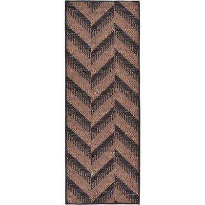 Jordan Brown Outdoor Area Rug Rug Size: Runner 22 x 6