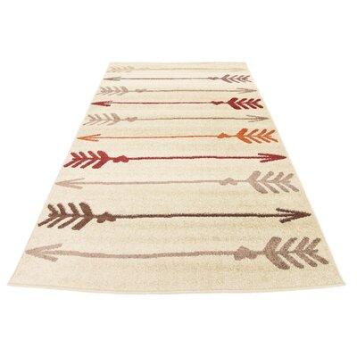 Cotati Beige Area Rug Rug Size: 5 x 8