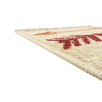 Picabo Beige Area Rug Rug Size: Runner 2 x 6