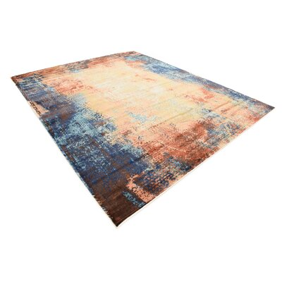 Jani Brick Red Area Rug Rug Size: 8 x 10