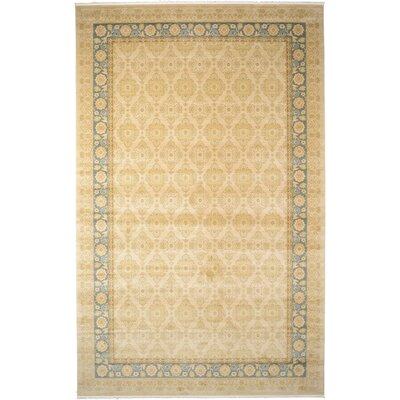 Fonciere Cream Area Rug Rug Size: Rectangle 33 x 53
