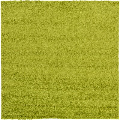 Maxine Green Area Rug Rug Size: Square 6
